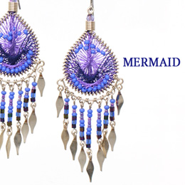 Machupicchu Jewelry MERMAID マーメイド ピアス S