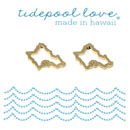 【SALE】tidepool love Hawaii /オアフ島 ピアス GⅤ
