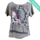 Out of Print Womens Dolman's Tee  [不思議の国のアリス]