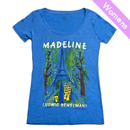 Out of Print Womens Tee  [MADELINE]