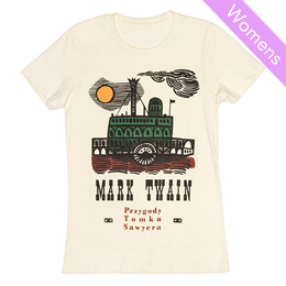 Out of Print Womens Tee  [MarkTwain]