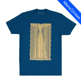 Out of Print Unisex Tee [Moby Dick]gillded