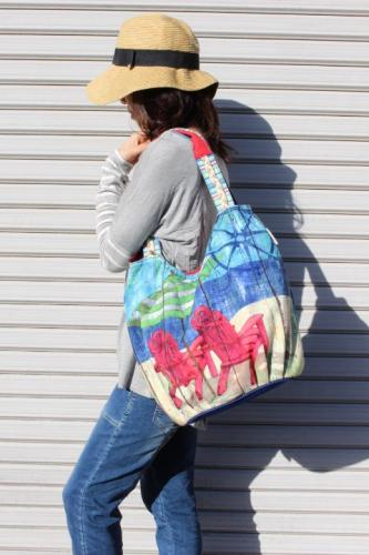 SunNSand Scoop Tote サンアンドサンドスクープトート