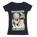 Out of Print Womens Tee Imagination Celebration